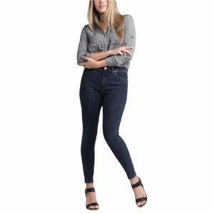 Silver Calley high rise dark wash jeans size 33